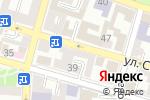 Схема проезда до компании Молоко в Астрахани