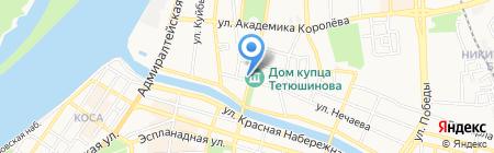 Росздравнадзор на карте Астрахани