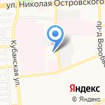 Леди Ди на карте Астрахани