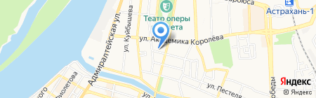 Клиника Доктора Нестерова на карте Астрахани