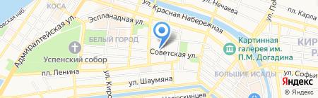 СДЮСШОР им. Л.А. Тихомировой по художественной гимнастике на карте Астрахани