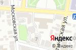 Схема проезда до компании Новая линия в Астрахани