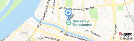 Детский сад №33 на карте Астрахани