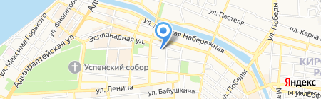 Следственный отдел по Трусовскому району г. Астрахани на карте Астрахани