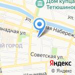 Следственный отдел по Советскому району г. Астрахани на карте Астрахани