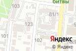 Схема проезда до компании ЭКТООЙЛ в Астрахани