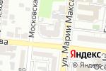 Схема проезда до компании Аква-Дизайн в Астрахани