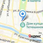 VIP овация на карте Астрахани
