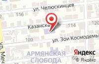 Схема проезда до компании Юридический колледж в Астрахани