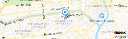 Юридический колледж на карте Астрахани