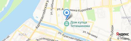 Неподдельная Роскошь на карте Астрахани