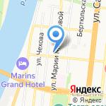 БАМПЕР на карте Астрахани