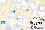 Схема проезда до компании ФокусВидео.ру в Астрахани
