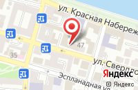 Схема проезда до компании ID ARCHITECTS в Астрахани