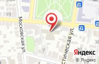 Схема проезда до компании Ивановы и Партнеры в Астрахани