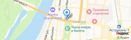 На колесах.ру на карте Астрахани