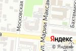 Схема проезда до компании Alain Manoukian в Астрахани