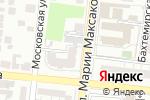 Схема проезда до компании Семицветик в Астрахани