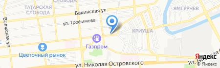 Омар Хайям на карте Астрахани