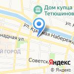 ИД на карте Астрахани