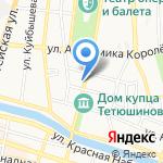 Вишенка на карте Астрахани