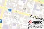 Схема проезда до компании Жар-пышка в Астрахани
