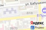 Схема проезда до компании Астраханская общественная организация профсоюза работников связи в Астрахани