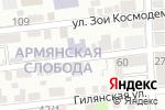 Схема проезда до компании Детский сад №21 в Астрахани