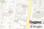 Схема проезда до компании Анкори в Астрахани