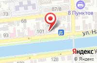 Схема проезда до компании ЗемляНе в Астрахани