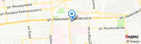 Проектно-технический центр на карте Астрахани