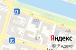 Схема проезда до компании Центр мониторинга в образовании, ГБУ в Астрахани