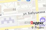 Схема проезда до компании Люксор в Астрахани