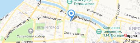 Сбербанк Лизинг на карте Астрахани