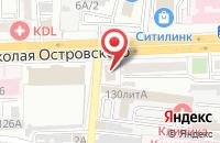 Схема проезда до компании Энергофин Плюс в Астрахани