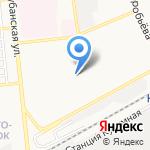 Медлад на карте Астрахани