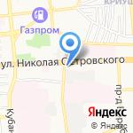Пикник на карте Астрахани
