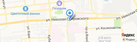 Рыбная компания Хаджаева на карте Астрахани
