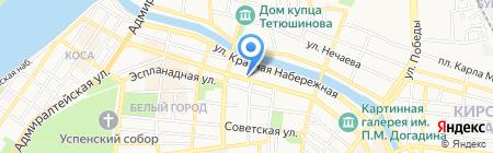 Каспийские Технологии на карте Астрахани