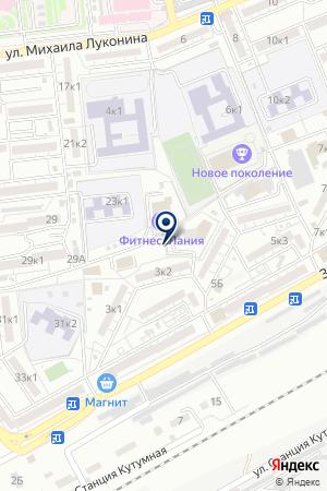 AstraDance Show на карте Астрахани