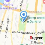 Галерея современного искусства Алексея Булычева на карте Астрахани