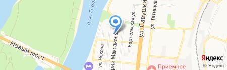 Канцелярский мир на карте Астрахани