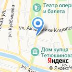 Антикварный магазин на карте Астрахани