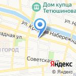 Ориентир на карте Астрахани