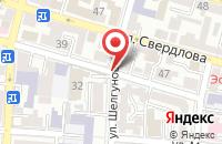 Схема проезда до компании Код в Астрахани