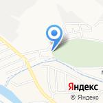 Центральное мусульманское кладбище на карте Астрахани