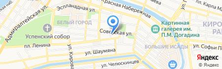 Эзоп на карте Астрахани