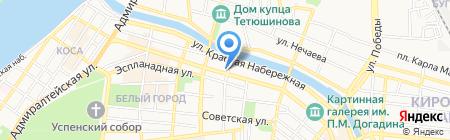 Росэксперт на карте Астрахани