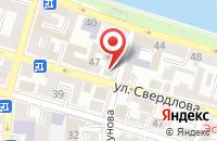 Схема проезда до компании САРМА в Астрахани