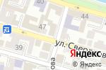Схема проезда до компании ЮгЭксперт в Астрахани